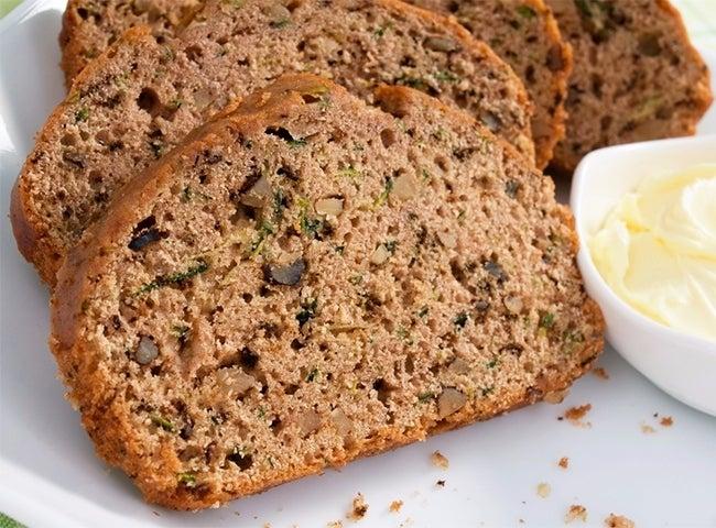 Skinny Zucchini Bread-650