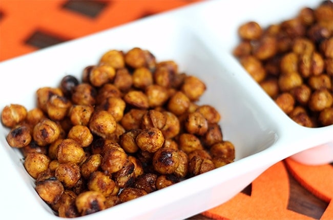 Spicy Roasted Chickpeas 650