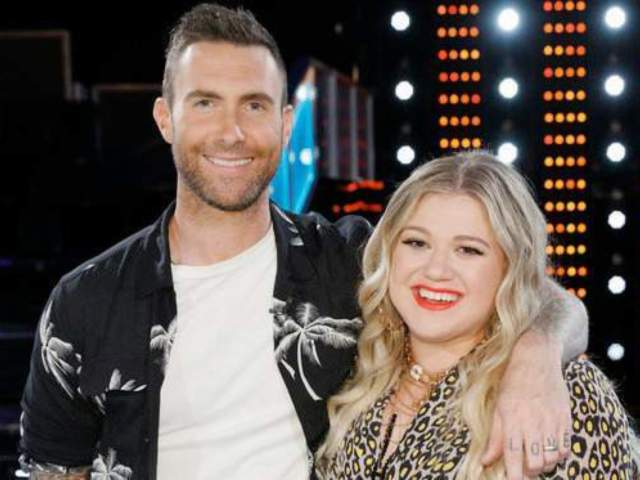 Adam Levine Calls Kelly Clarkson 'Weird' After 'The Voice' Freak-Out