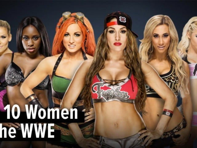 Top 10 Women of the 2018 WWE