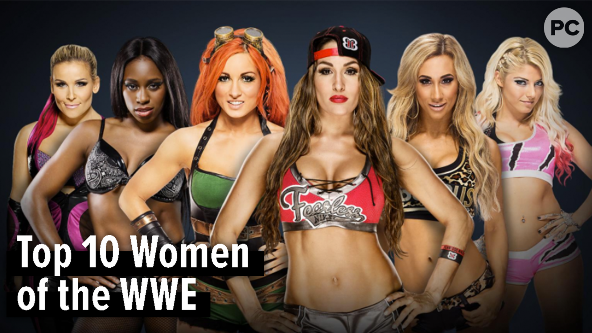 Top 10 Women of the 2018 WWE screen capture