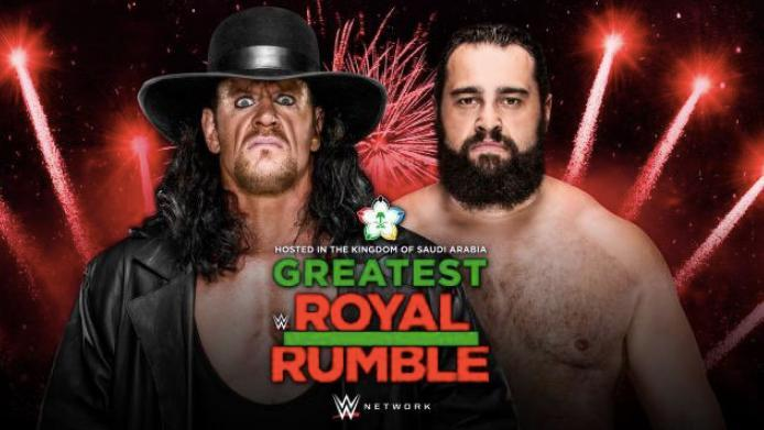 Undertaker Greatest Royal Rumble