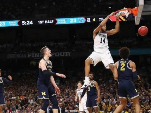 Villanova Wins 2018 NCAA Men's College Basketball National Championship