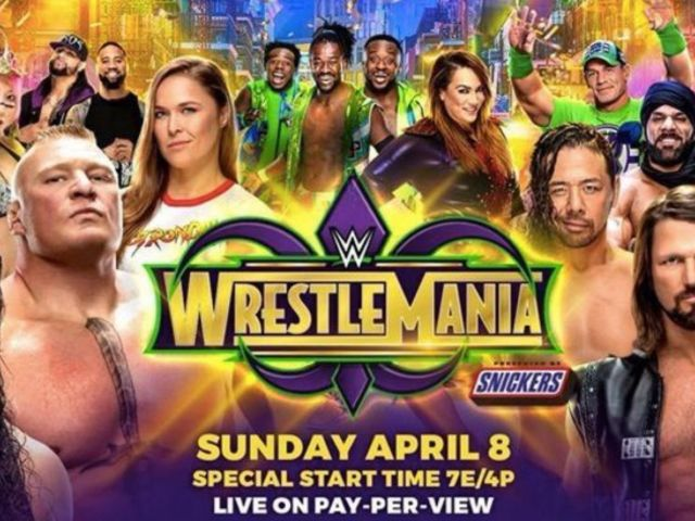 Watch: WrestleMania 34 Stage Set Revealed