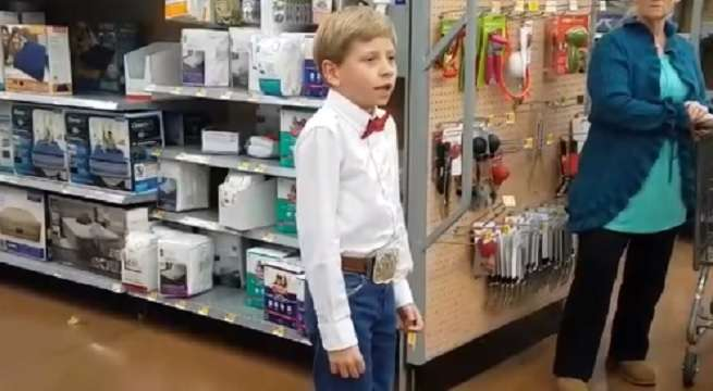 yodelling walmart boy viral video