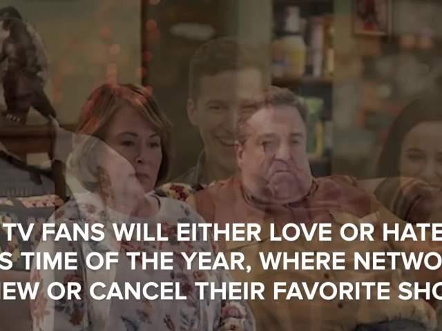 2018 TV Cancellations & Renewels (ABC, CBS, FOX & NBC)