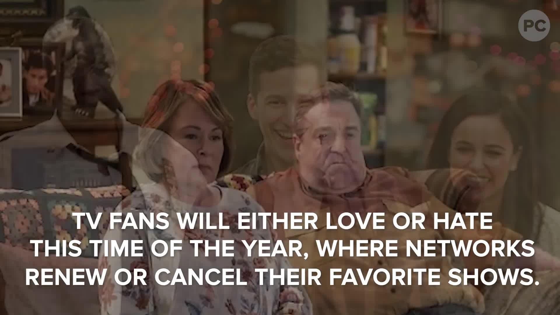 2018 TV Cancellations & Renewels (ABC, CBS, FOX & NBC) screen capture