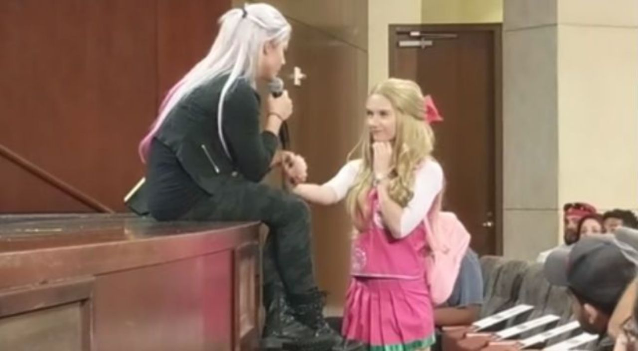 Alexa Bliss Shares Emotional Moment With WWE Fan Battling