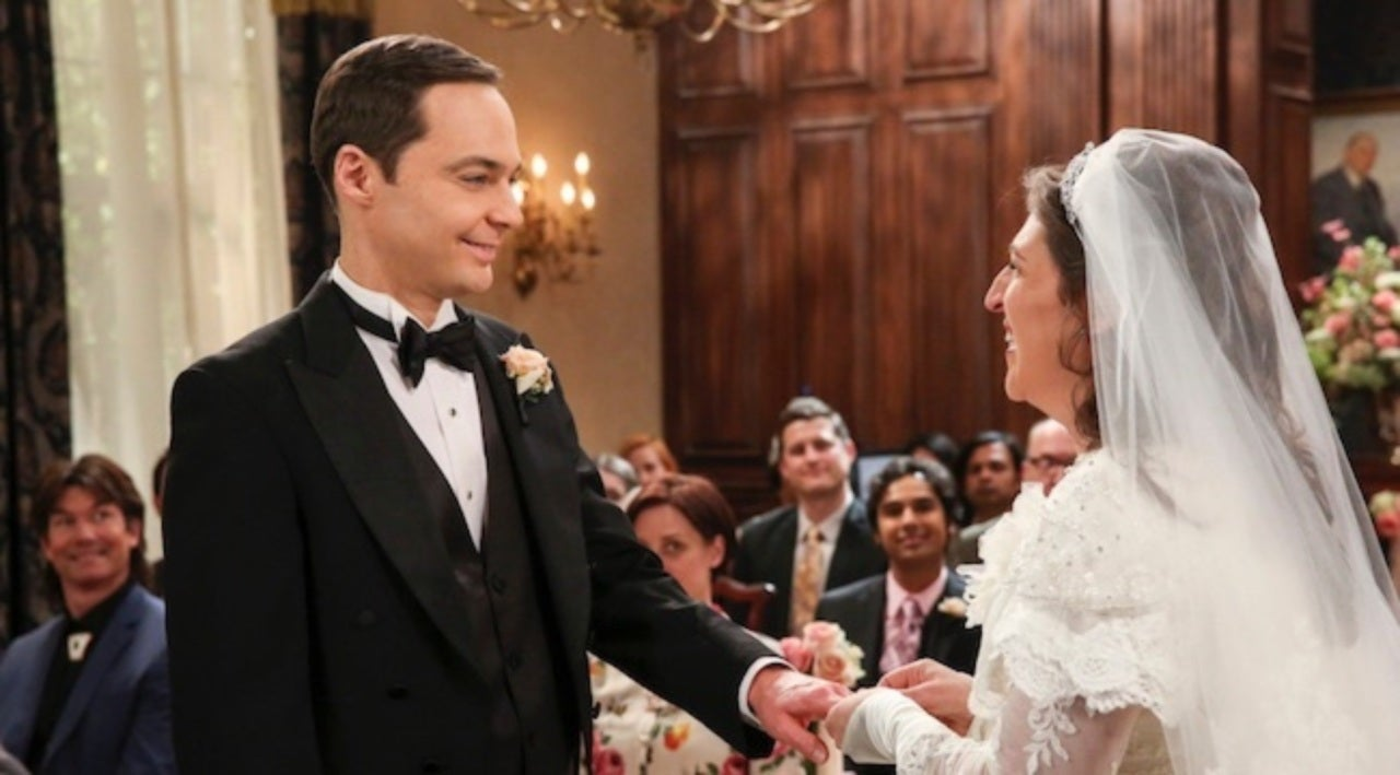 Sheldon And Amy Wedding.Big Bang Theory Sheldon And Amy S Wedding Vows Revealed