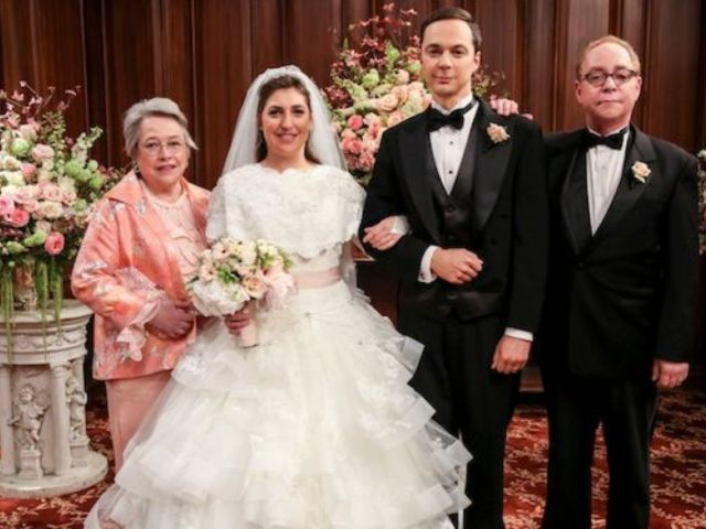 'Big Bang Theory': See Photos From Sheldon and Amy's Wedding