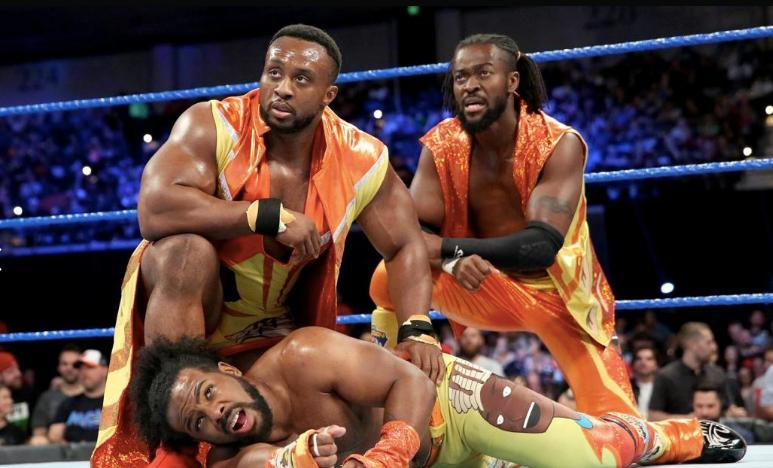 big e new day singles push wwe
