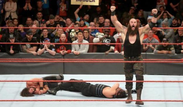 Braun Strowman WWE Jim Ross Heir Reigns Rollins
