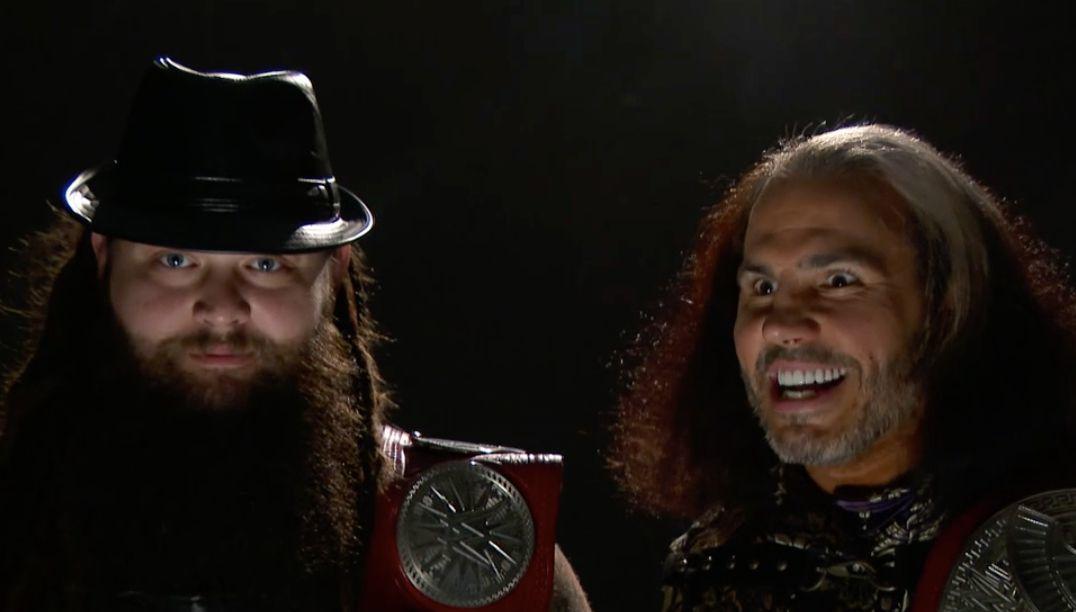 Bray Wyatt Samael Woken Mat Hardy