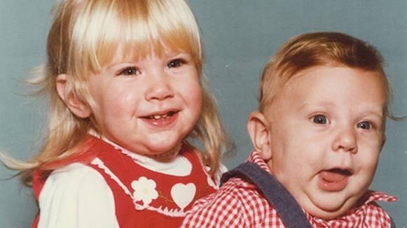 Daniel Bryan childhood photo