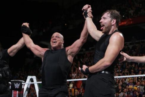 Dean Ambrose come back wwe kurt angle