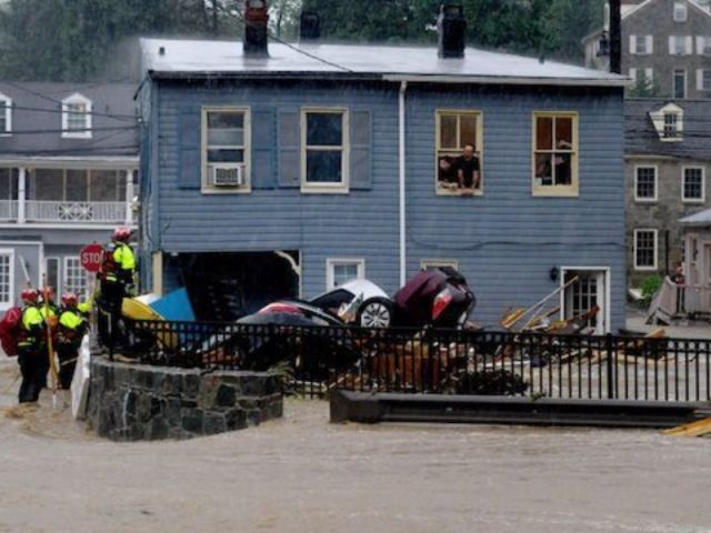 1 Person Missing as Extreme Flooding Rocks Ellicott City, Maryland