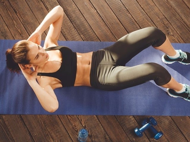 7 Moves To Do On The Floor That Will Leave You Sore