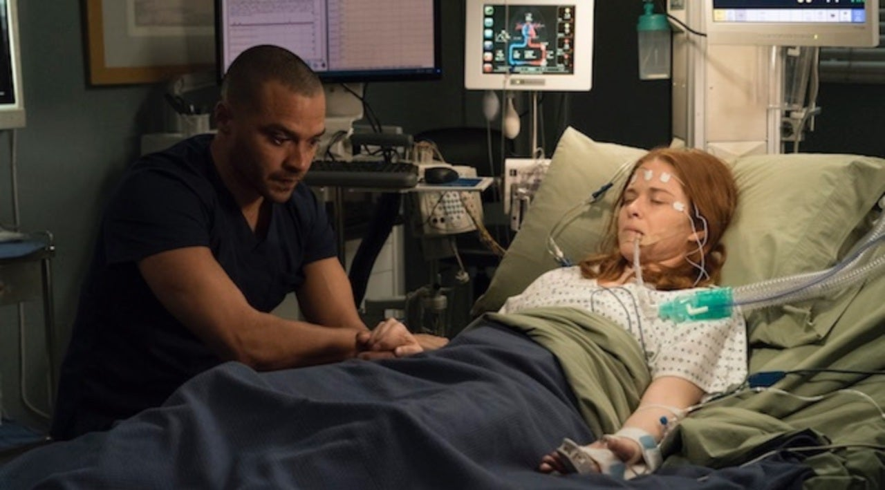 Grey\'s Anatomy\': See Sarah Drew\'s Behind-the-Scenes Snaps From Big ...