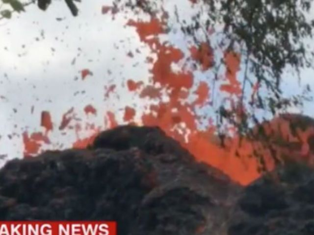 Lava 'Bombs' Fly as Hawaii Braces for Eruption
