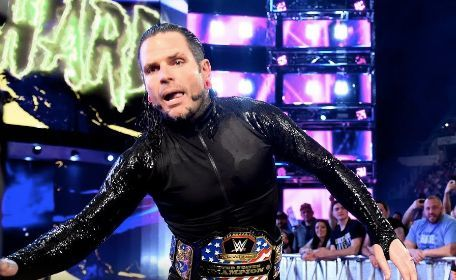 Jeff Hardy knee injury london