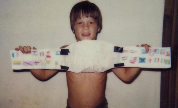 John Cena childhod photo