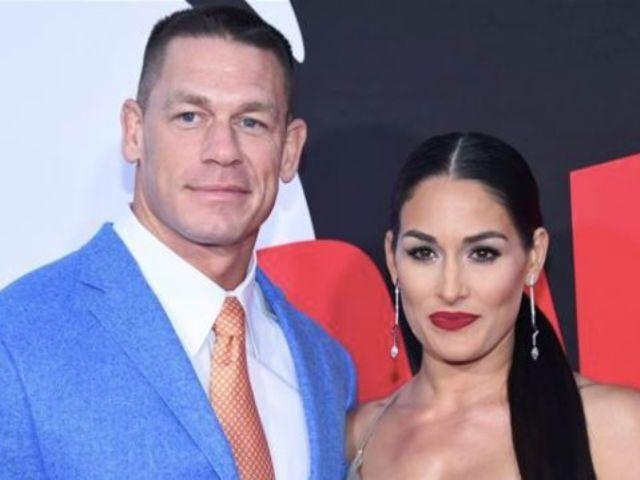 John Cena and Nikki Bella Reunite in Unhappy Dinner Date