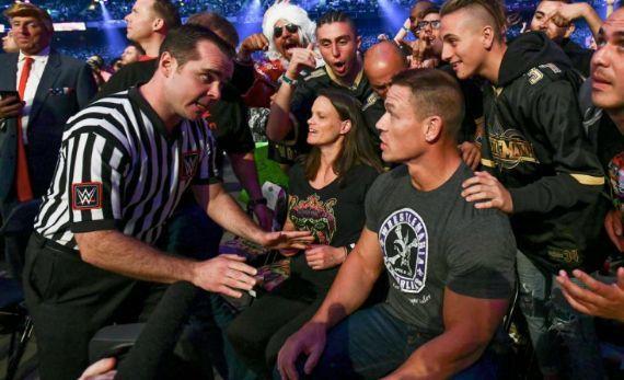 John Cena WrestleMania Undertaker wwe creative
