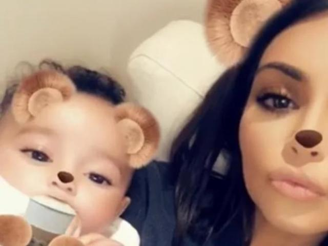 Kim Kardashian Shares Adorable New Video of Baby Chicago