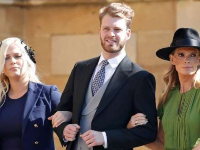 Meet Prince Harry's Single Cousin Who Turned Heads at the Royal Wedding