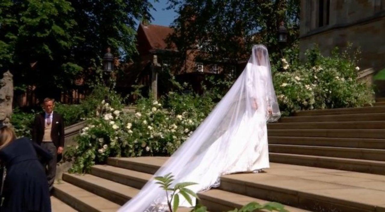 how much meghan markle s wedding dress cost pop culture