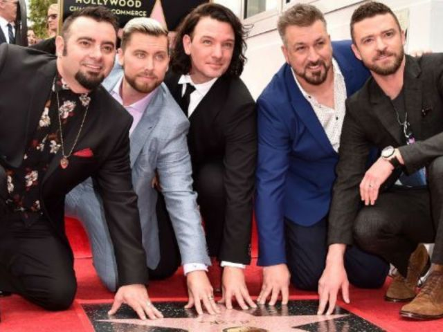 *NSYNC Reunites for Hollywood Walk of Fame Star Ceremony