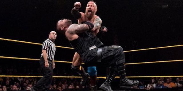 NXT WWE AOP Sanity Ghosts