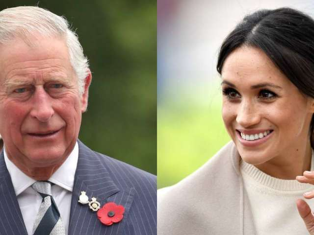 Prince Charles Weighs in on Walking Meghan Markle Down the Aisle at Royal Wedding