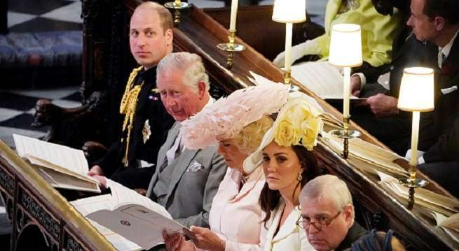prince william charles at wedding getty