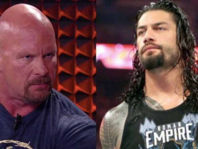 Roman Reigns Shrugs Off Advice From 'Stone Cold' Steve Austin
