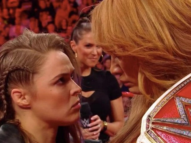 Ronda Rousey and Nia Jax Official for MITB After Tense Contract Signing