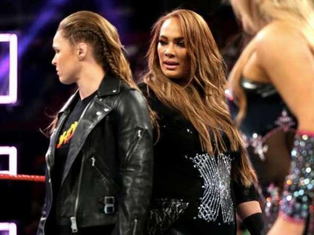 WWE Teases Ronda Rousey vs. Nia Jax Blockbuster on RAW
