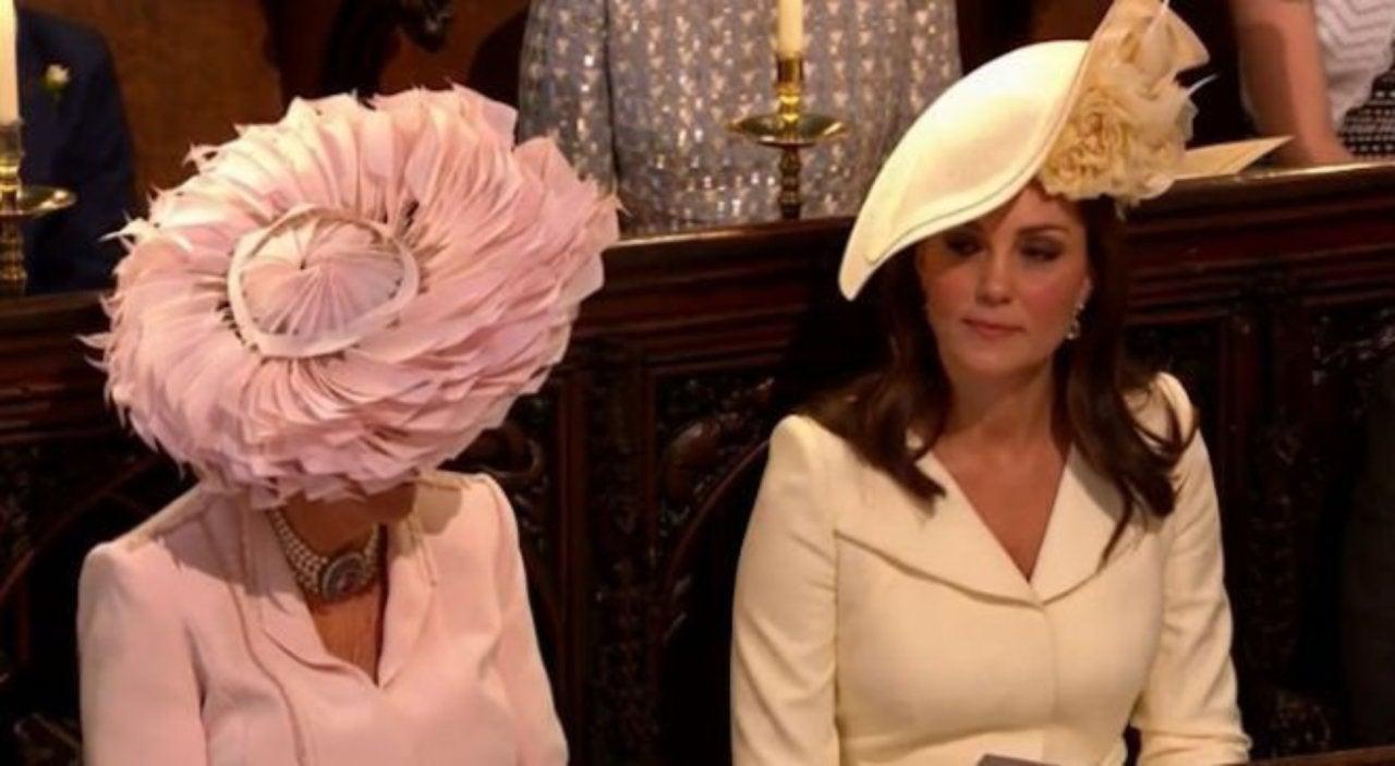 Royal Wedding Viewers Take Aim At Kate Middletons Hat Choice