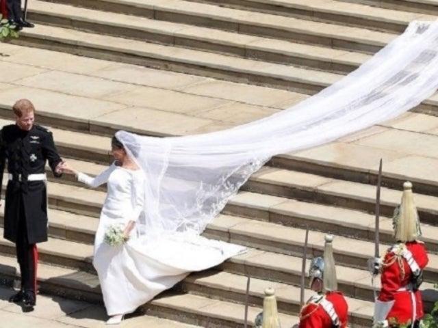 Royal Wedding: Meghan Markle's Veil Hilariously Trolled on Twitter
