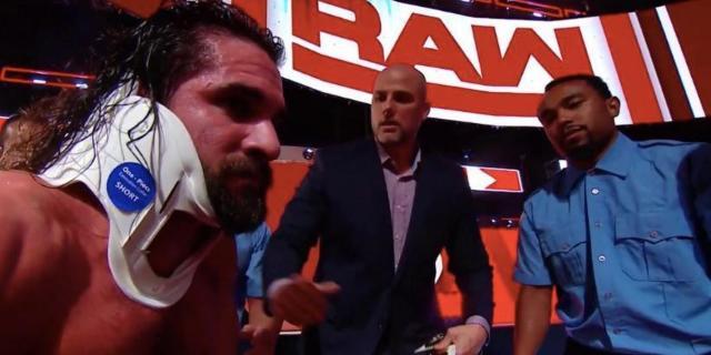 Seth Rollins Jinder Mahal Elias RAW WWE MITB
