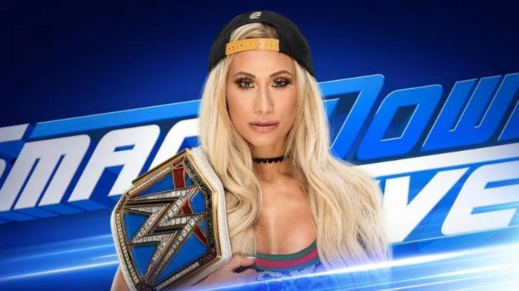 SmackDown Live spoilers mitb carmella