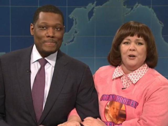 'Saturday Night Live': Melissa McCarthy Stops by Weekend Update as Michael Che's Stepmom