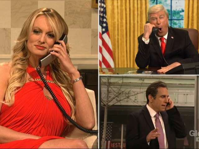 Ben Stiller, Martin Short and Stormy Daniels Lead Star-Studded Opening Sketch on 'SNL'