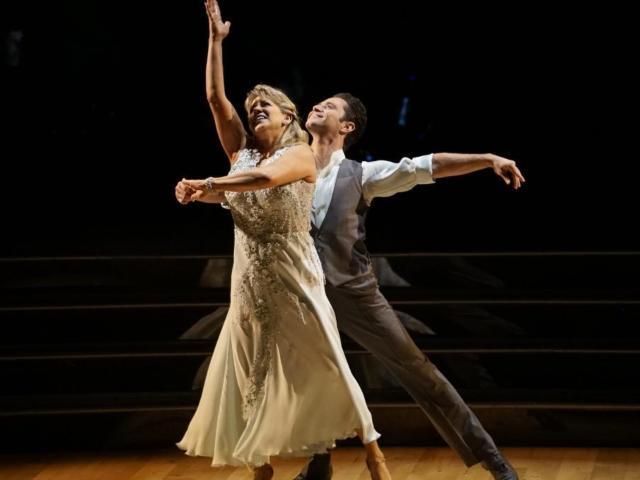 Sasha Farber Reveals Sentimental Meaning Behind Tonya Harding's 'DWTS' Dress