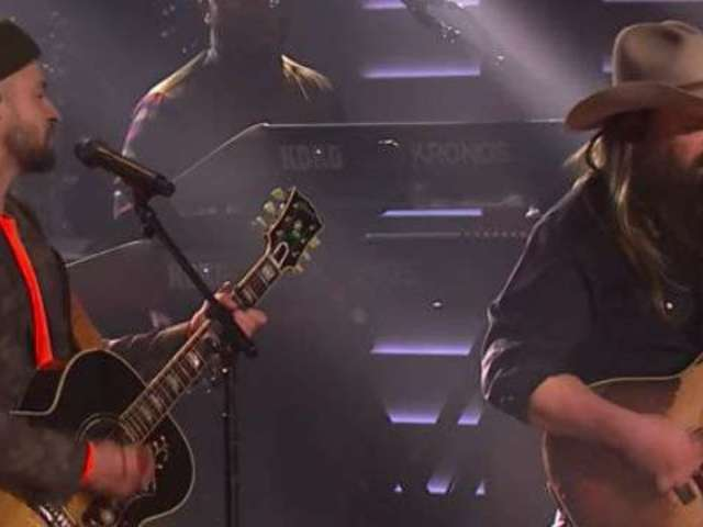 Watch Chris Stapleton Perform 'Say Something' With Justin Timberlake