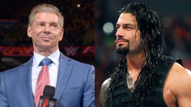 Vince McMahon roman reigns backlash walk out
