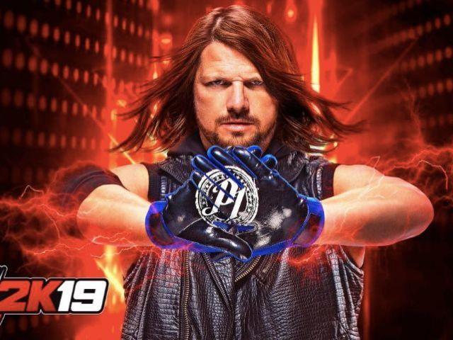 AJ Styles Lands WWE 2K19 Cover