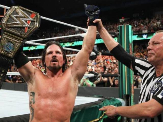 Reported Reason Why AJ Styles is Still WWE Champion