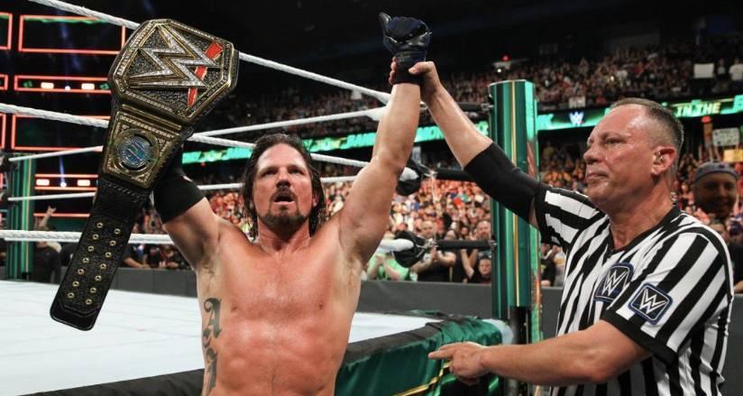 Aj styles WWE why still Champion