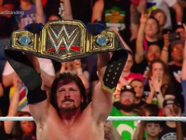 AJ Styles Defeats Shinsuke Nakamura in a Classic at Money in the Bank